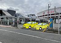 旧駅舎跡駐車場